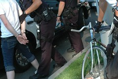strange but true bike arrest