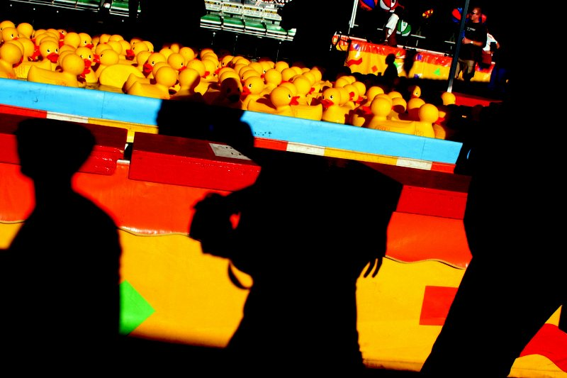 Oregon State Fair - Ducks & Carnival Games