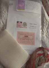 Where there is Life Kit by Little House Needleworks.