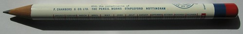 1953 Coronation Pencil - F. CHAMBERS & CO. LTD