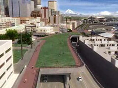 Alaskan Way Viaduct tunnel replacement simulation