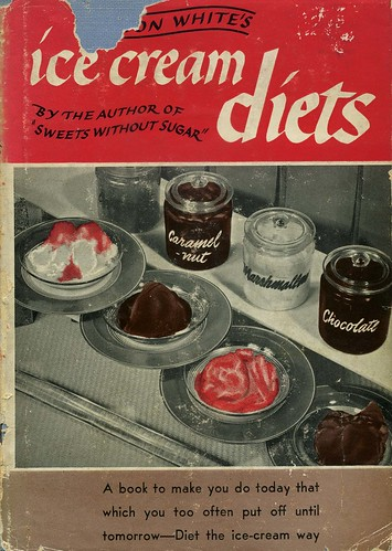 Ice Cream Diets book, 1946