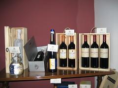 La exposición de los vino