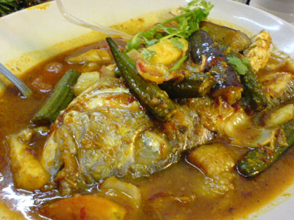 fish head asam