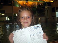 martha passes swimming lessons