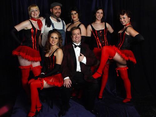 Belmont Burlesque Revue cast