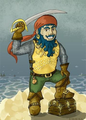 Gimlet - Pirate Dwarf