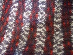 Closeup LumberJack socks