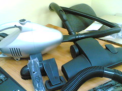 vacuum with accessories