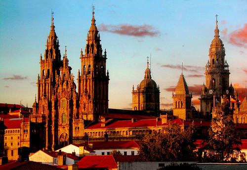 Atardecer en Santiago