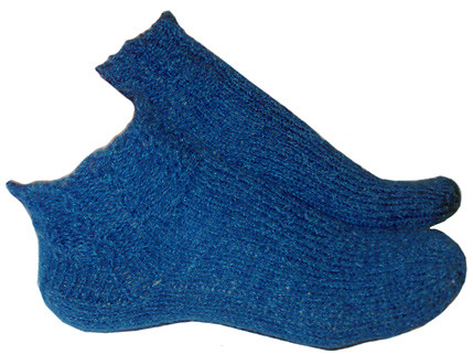 Socks knit by LynnH based on First-Time Toe-Up Pattern