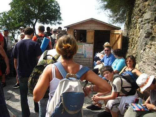 Line for the Via dell'Amore
