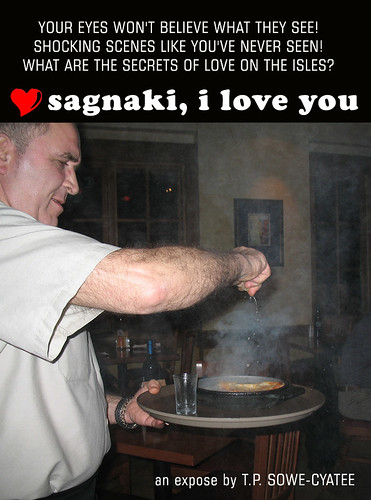Saganaki, I Love You