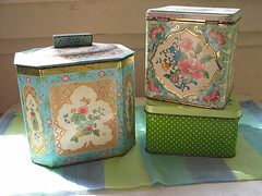 Thrifted Tins