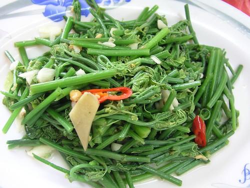 「頂湖小鎮」龍鬚菜