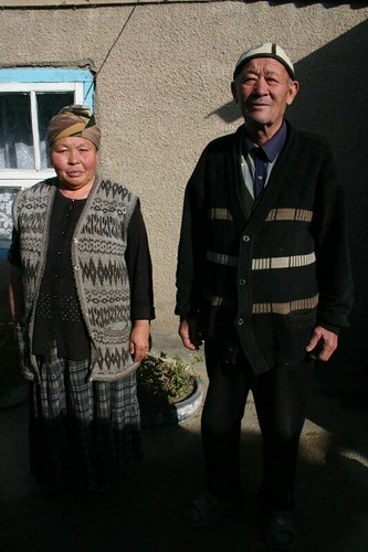 My hosts in Kochkor, Kyrgyzstan.