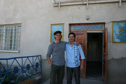 My buddy and financial rescue in Naryn!