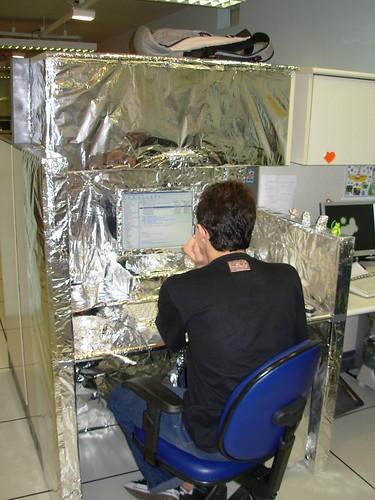 Estação Espacial em Uso