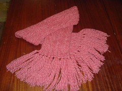 Candy Cane Scarf 002