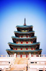Gyeongbok Palace [Lomo-fied]