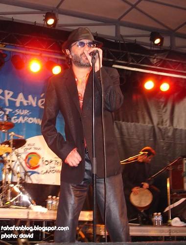 Rachid Taha in Portet sur Garonne, Sept.24, 2006, 1