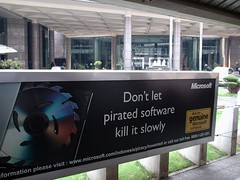 Don't Let Pirated Software Kill -- Use Free Software