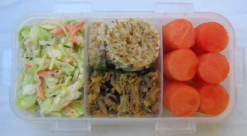 Pulled pork lunch for toddler お弁当