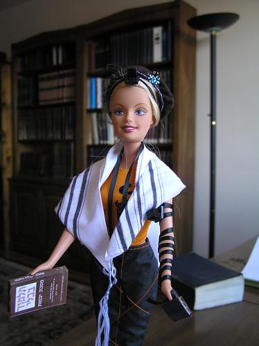 Barbie Tefillin by Jen Taylor Friedman