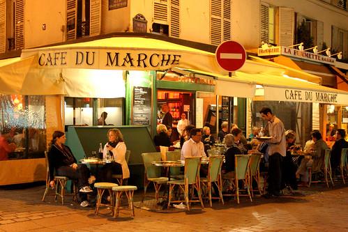 Cafe Du Marche Rue Cler Paris