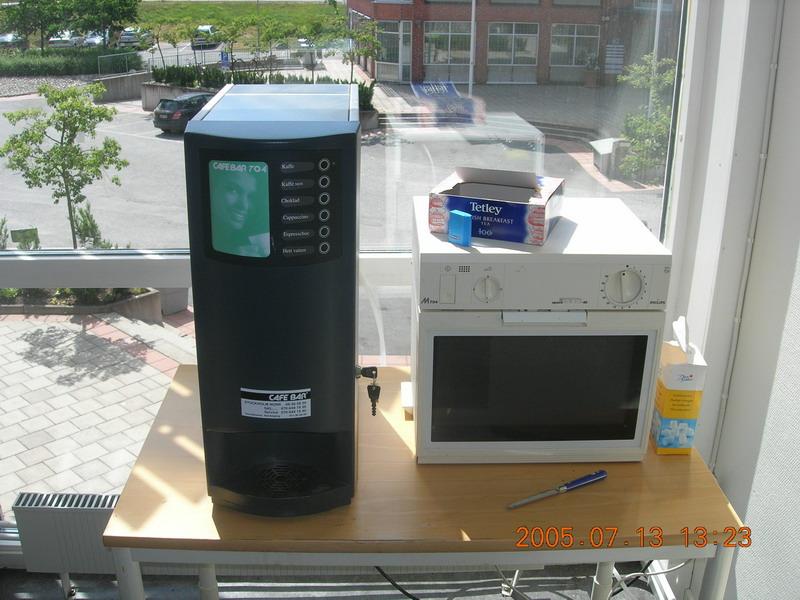 超像服务器的饮料机