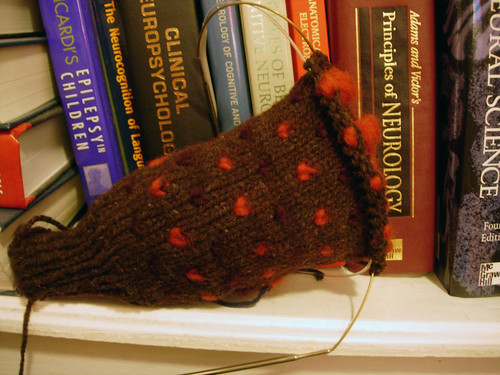 Thrummed mitten kit from Greenwood Hill Farm