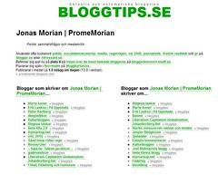 Bloggar om mig, och vice versa