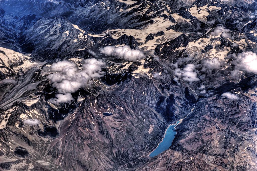 Glacial Lake in the Alps