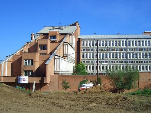 Наша гостиница в Иркутске \ Our hotel in Irkutsk