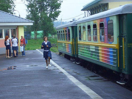 Разноцветный вагон \ colored vagon