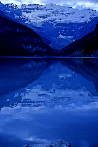 Blue Day at Lake Louise