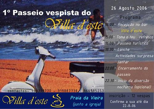 CONVíVIO VESPISTA vila deste (Praia da Vieira)