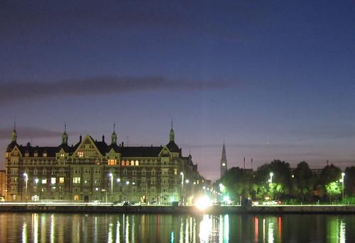 Copenhagen streetlights