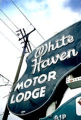 White Haven Motor Lodge (Close-Up)
