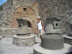 Ancienne boulangerie à Pompéi