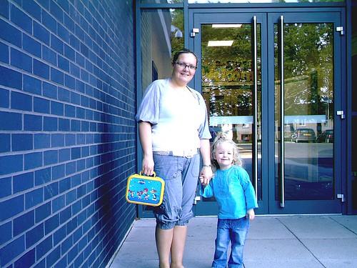 MY DAUGHTER & GRANDDAUGHTER, ERIN'S NEW PRESCHOOL
