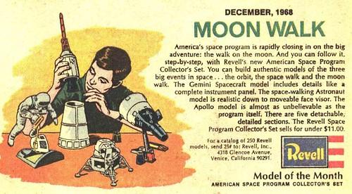 Revell Moonwalk 1969