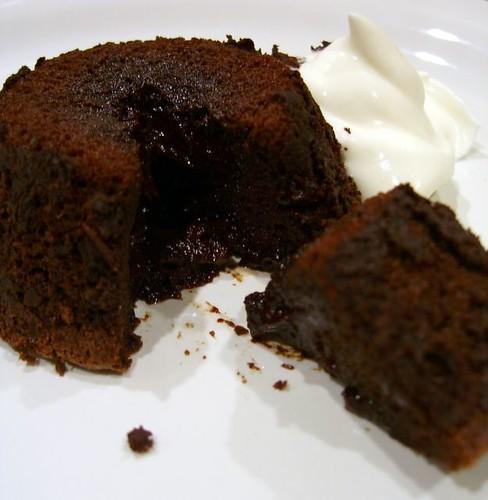 Molten Chox Cake