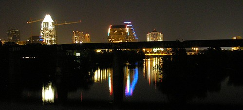 8/30/06: Austin skyline by night