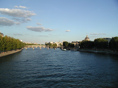 Seine at evening