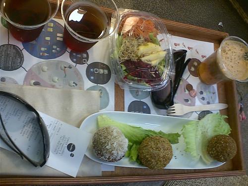 Foodball tray