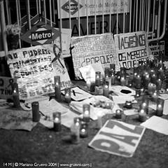 Estación de Atocha recuerdo víctimas 11M