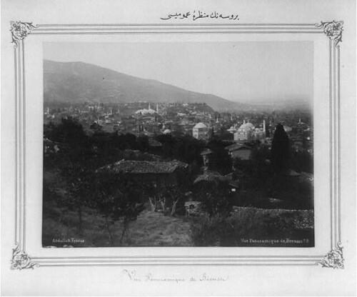 Bursa'nın genel görünüşü