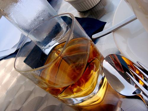 Cognac tablescape