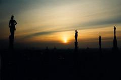 Duomo di Milano all'alba